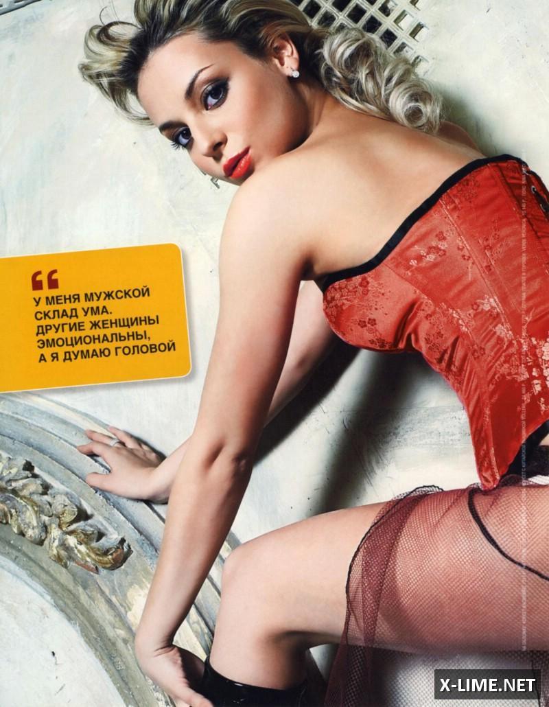 Голая Дарья Сагалова в откровенной фотосессии журнала SIM