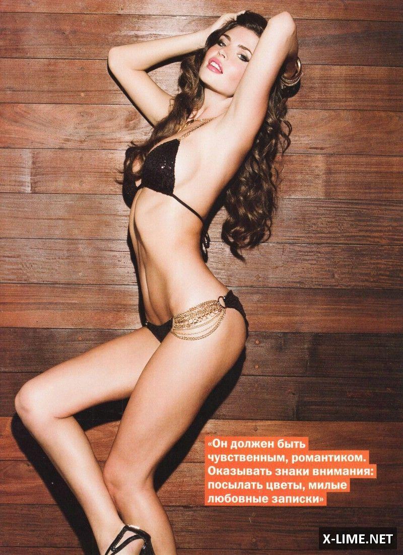 Голая Юлия Лескова в откровенной фотосессии журнала FHM