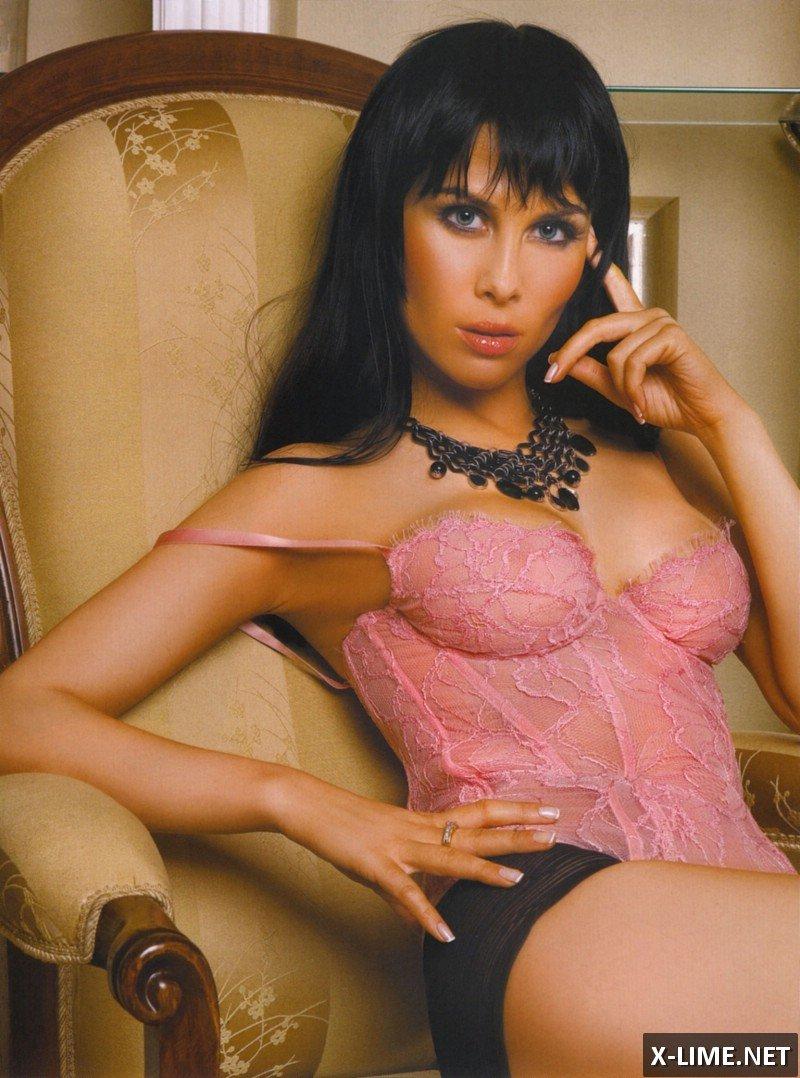 Обнаженная Юлия Беретта, откровенные фото Penthouse