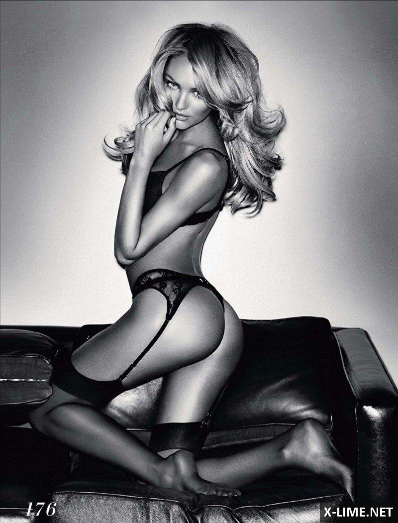 Голые модели Виктория Сикрет в эротической фотосессии GQ