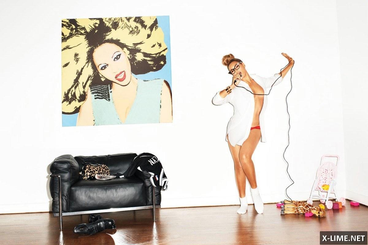 Голая Бейонсе, откровенные фото в журнале GQ