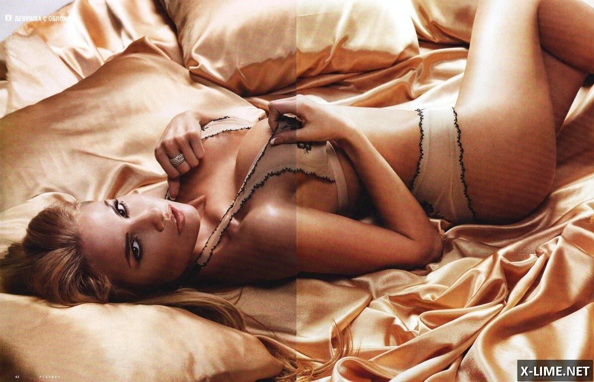 Голая Дарья Церетели в откровенной фотосессии PLAYBOY