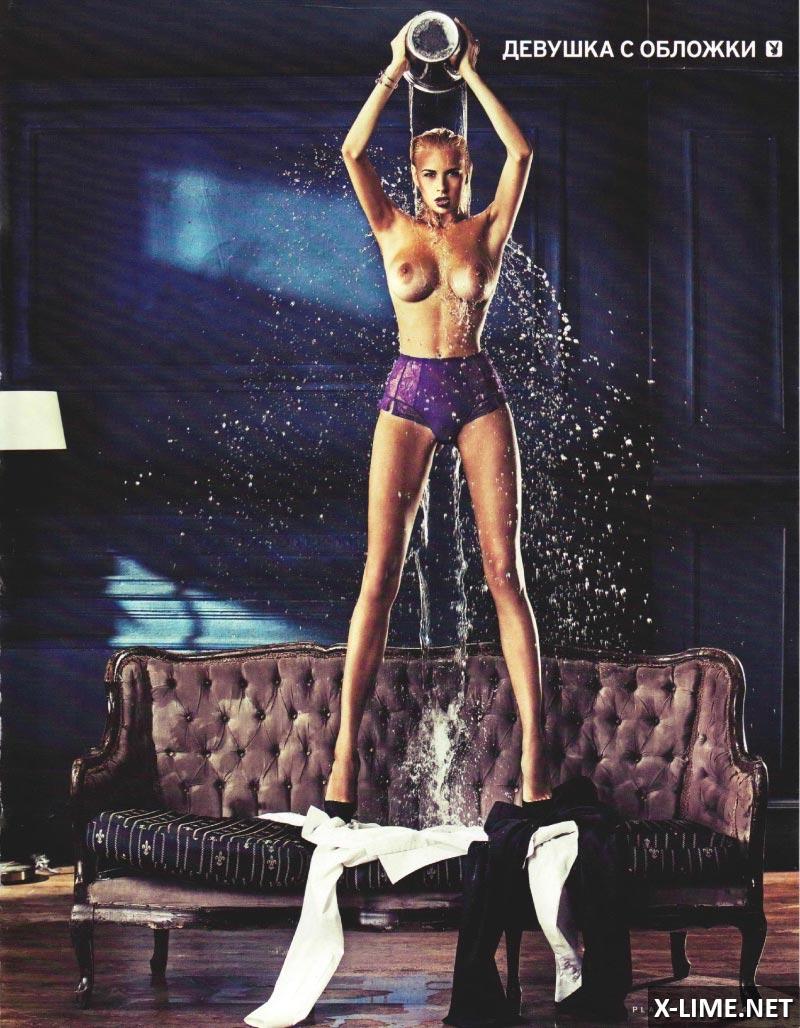 Голая Наталья Кальчук в эротической фотосессии PLAYBOY