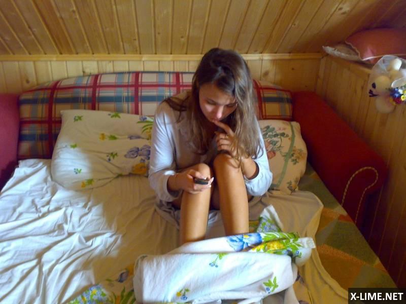 Любительское с молоденькой женой (88 ФОТО)